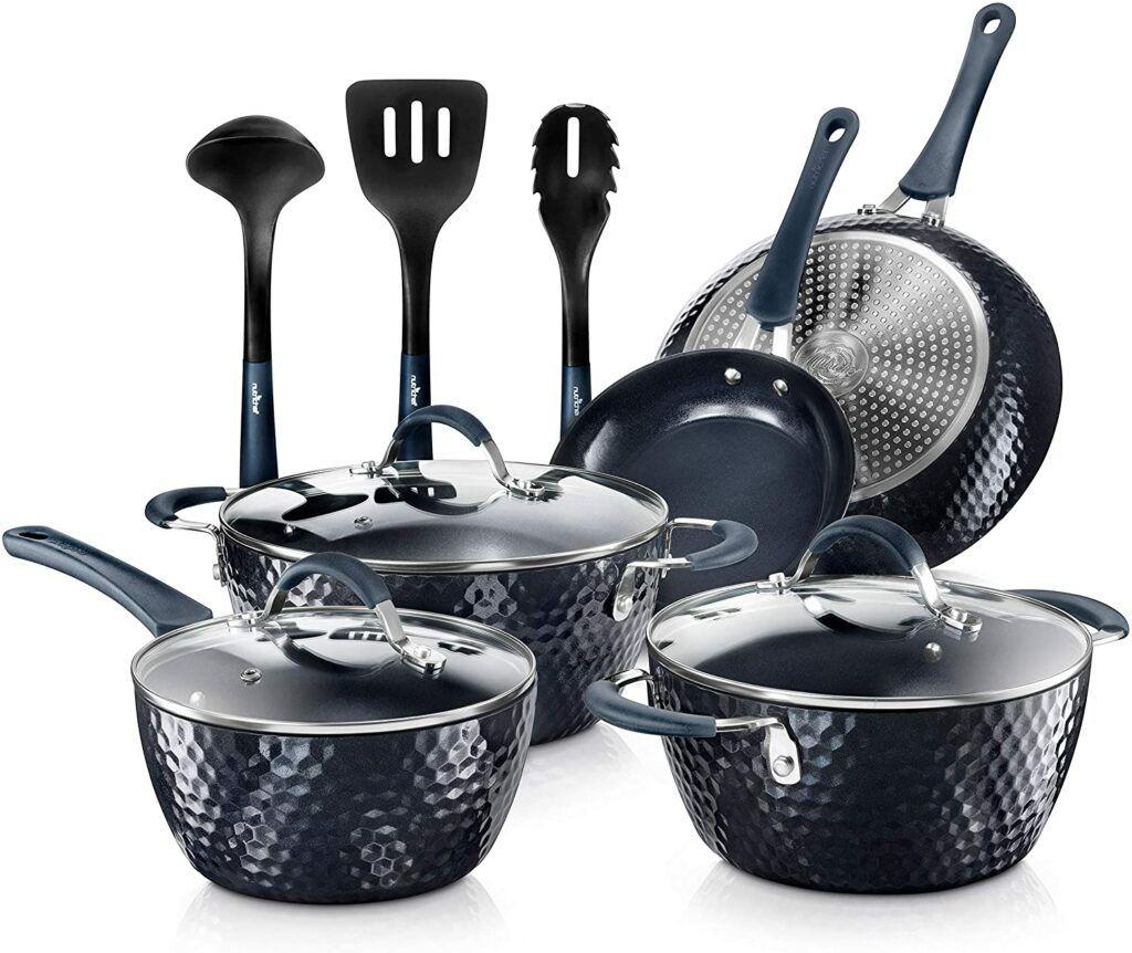 Best Lightweight Cookware For Adaptive Living - Nutrichef Nonstick Cookware