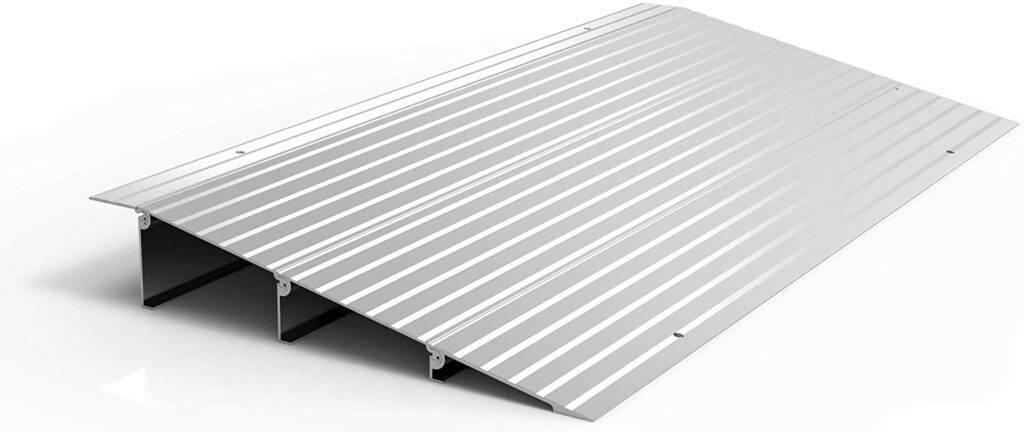 Best Wheelchair Threshold Ramps:EZ-Access Transitions Modular Aluminum Entry Ramp