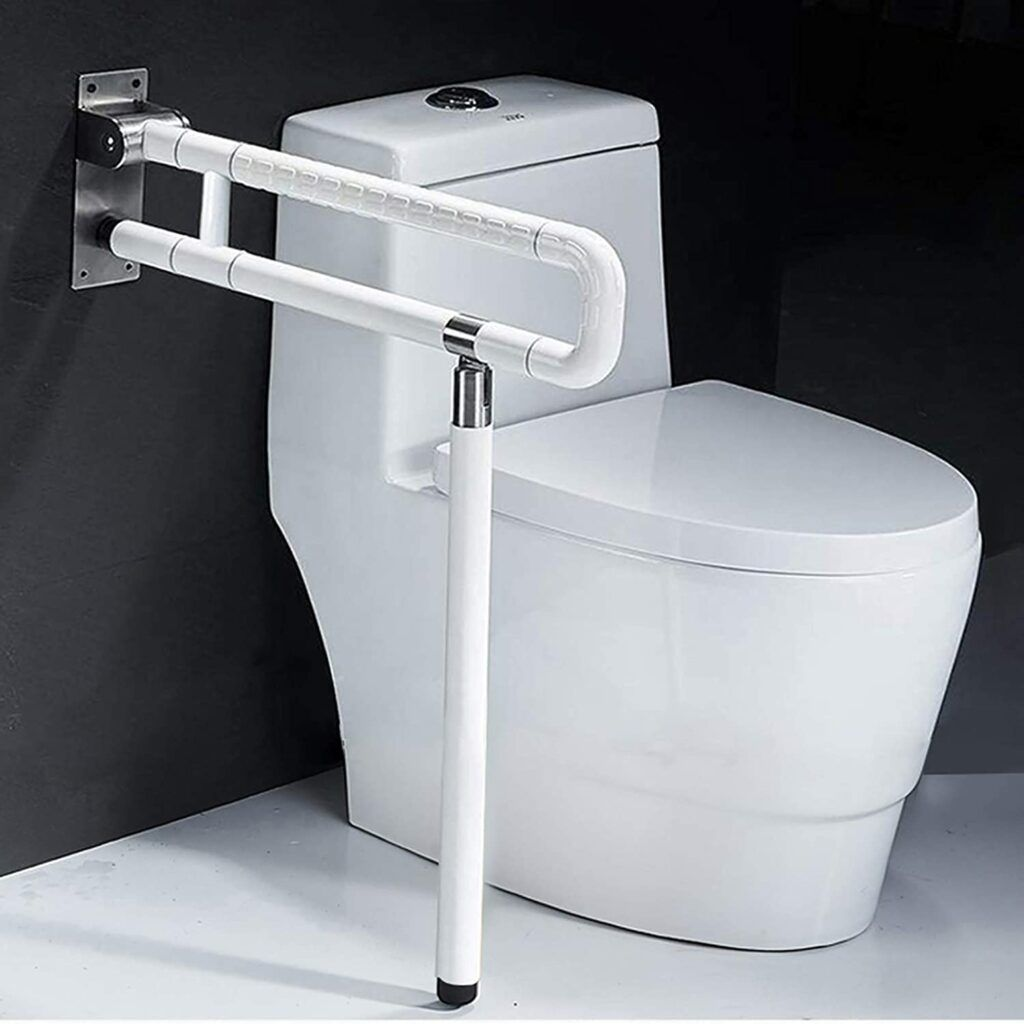 The 5 top Toilet aids for the disabled- Foldable Toilet Grab Bar