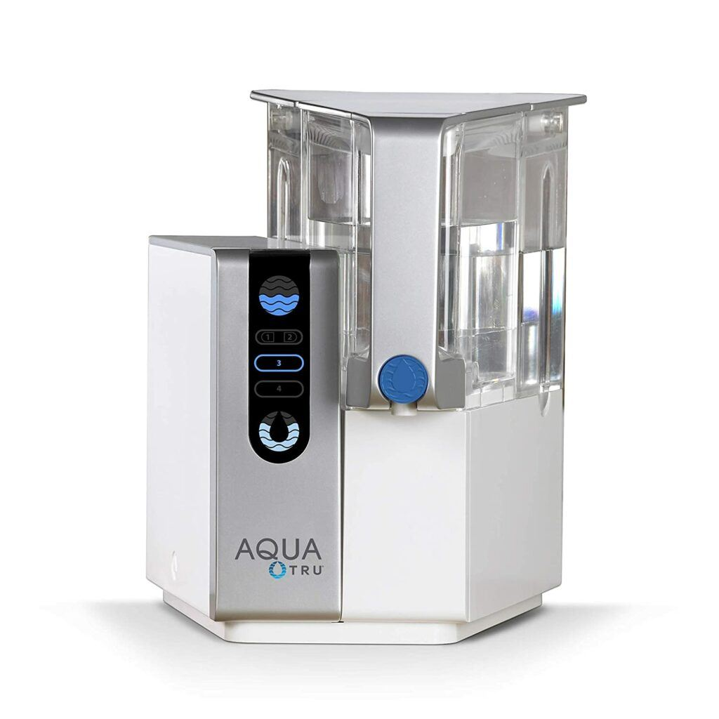 The 5 Best Countertop Water Filter Systems:AquaTru - Countertop Water Filtration Purification System
