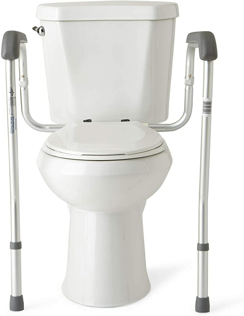 the 5 top Toilet aids for the disabled-Medline Toilet Safety Frame for Toilet